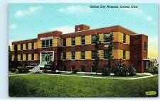 Galion City Hospital Galion Ohio old Vintage Postcard A94