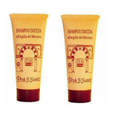 Shampoo Doccia Ghassoul /Rhassoul-Argilla saponifera -n.2x200ml=400ml Tea Natura