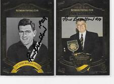 RICHMOND HALL OF FAME  CARDS SIGNED BY RON BRANTON  /MINT CONDITION