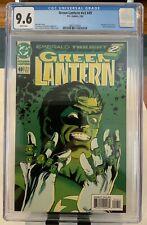 Green Lantern #v3 #49 CGC 9.6 White Pages Emerald Twilight Part 2 Sinestro App