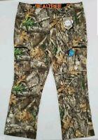 Realtree Edge Camo Lightweight Stretch Hunting Performance Pants Men's XL 40-42