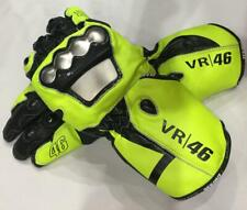 Valentino Rossi 2018 Moto gp VR46 Leather Motorcycle Racing Leather Gloves all