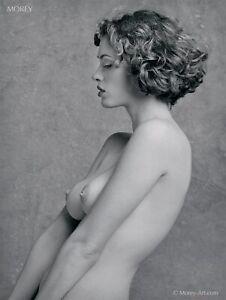 Helena 28621.07 B&W Fine Art Nude Model 8.5x11 Hand-Signed Photo by Craig Morey