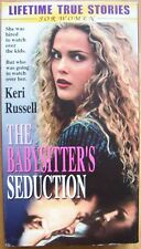 The Babysitter's Seduction (2001) VHS old man young girl Keri Russell true story