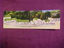 Augusta,ME Maine, Memorial Bridge Motor Court,DOUBLE LENGTH MR& Mrs Edgar Linton