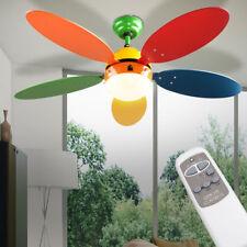 Lampe pour ventilateur de plafond enfants télécommande Interrupteur de traction