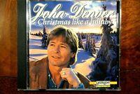 John Denver - Christmas Like A Lullaby  -  CD, VG