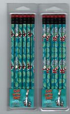 Set of 12 Dr Seuss Pencils The Cat in the Hat Islands of Adventure Universal Nip
