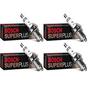 4 Bosch Copper Core Spark Plugs For 1975-1977 RENAULT R12 L4-1.6L