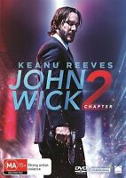 John Wick 2 - Chapter 2 (DVD, 2017) NEW