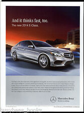 2014 MERCEDES-BENZ advertisement, Mercedes Benz E-Class