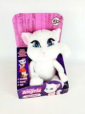 Official Talk Back Angela Cat Plush Interactive Toy Talking Tom & Friends NEW