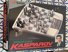 **Saitek Kasparov Sensor Chess Electronic Chess 1991 Vintage Game**