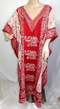 Jessica Taylor Femme Plus One Taille Libre Tunique Robe Caftan Haut Tie And Dye