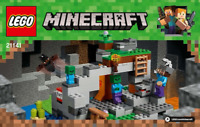 LEGO Minecraft Instructions / instructions (21141) NEW NEW The Zombie Cave