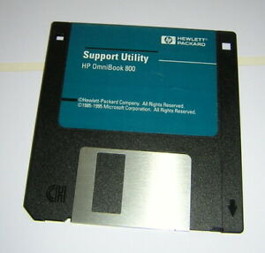 HP OmniBook 800CT 5/166 Support Utility Floppy Boot Diskette