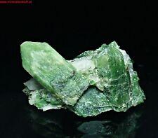 fine DIOPSIDE crystal Diopsid Kristall KERRETI - OUTOKUMPU Finnland Erz