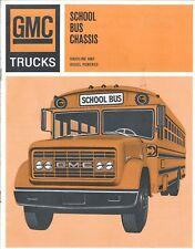 School Bus Chassis Brochure - GMC - SG-5500 SM-6500 RG-7500 et al - c1966 (BU72)