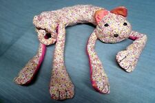 """Cat Handmade Stuffed neck pillows scatter cushion approx 17"""" (body) to 20"""" high"""