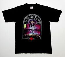 Grateful Dead Shirt T Shirt Vintage 1990 Skull Walker Skeleton Lightning Rose L