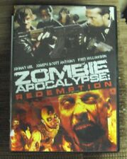 ZOMBIE APOCALYPSE: REDEMPTION DVD widescreen horror Fred Williamson Johnny Gel