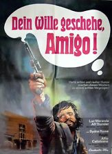 """1 Original Filmplakat A1, """"Dein Wille geschehe Amigo"""", 1973"""
