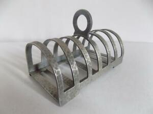 TUDRIC Pewter  Liberty & Co Number W01506 Toast Rack Archibald Knox??