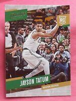 2017 panini prestige jayson tatum rookie card boston celtics star