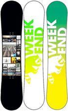 Weekend Hypershred 148 Snowboard by Eddie Wall Camber Allround Board