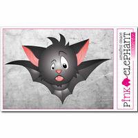 Aufkleber - FLEDERMAUS 09 - 13 x 9 cm - BAT - Halloween Grusel Vampir Twilight