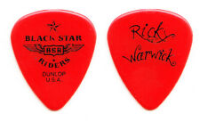 Black Star Riders Ricky Warwick Signature Red Guitar Pick - 2011 Tour Thin Lizzy