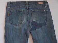 Paige Premium Denim Jeans Bottoms Benedict Canyon Boot Cut Woman Size 27