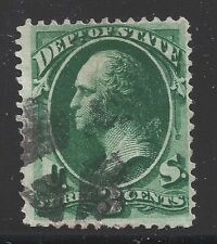 Handstamped 3 Cent US Back of Book Stamps