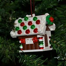 New Genuine Lego Christmas Ornament Gingerbread House with Instructions