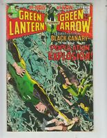 "Green Lantern 81 G+ (2.5) 12/70 Black Canary! ""Population Explosion!"""