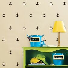 Nautical Anchor Pattern Art Wall Sticker Baby Bedroom Decor | Hope Symbol Decal