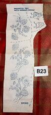 Vintage Broderie Iron On Transfert, handsewing, Needlepoint (B23)