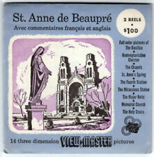 VIEW-MASTER S3D - St ANNE de BEAUPRÉ BEAUPRE | Buy 3 or More For Free Shipping