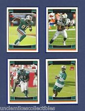 2006 TOPPS MIAMI DOLPHINS TEAM SET: 9 CARDS