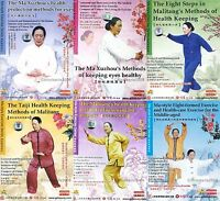 Ma Litang Style Qigong Exercise Series by Ma Xuzhou 9DVDs