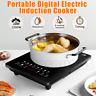 2200W Electric Single Induction Cooker Portable Burner Cooktop Digital Hot Plate