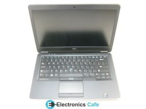 "Dell E7440 14"" Laptop 2.0 GHz i5-4310U 4GB RAM (Grade C No Battery, Caddy)"