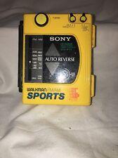 sony WM-F63/F73 WALKMAN sports am/fm radio cassette player doesn't work C8