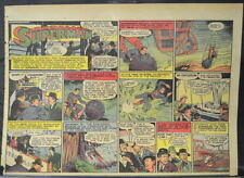 SUPERMAN SUNDAY COMIC STRIP #20 Mar 17, 1940 2/3 FULL Page DC Comics RARE