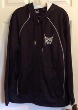 MPS TAPOUT Men's Zip Up Hoodie Jacket Black Size L Excellent Condition