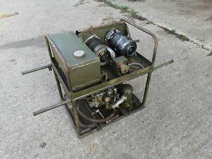 VINTAGE DOUGLAS MILITARY STATIONARY ENGINE GENERATOR