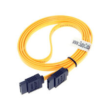 39 inch Yellow SATA III Cable W/ Latch
