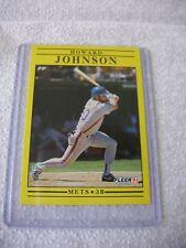 Howard Johnson Mets 3B Card Fleer 1991 #152