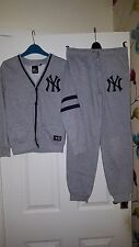 Boys Jacket & Trousers Tracksuit - Majestic Athletic Baseball New York Yankees