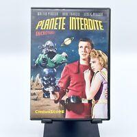 "DVD ""Planète Interdite"" / avec Walter Pidgeon, Anne Francis / CinemaScope / 1956"